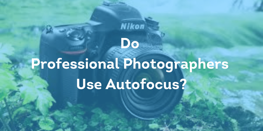 Do Professional Photographers Use Autofocus?